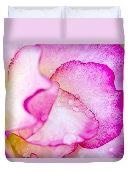 Rose Insider Duvet Cover