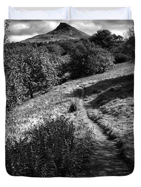 Roseberry Topping Duvet Cover