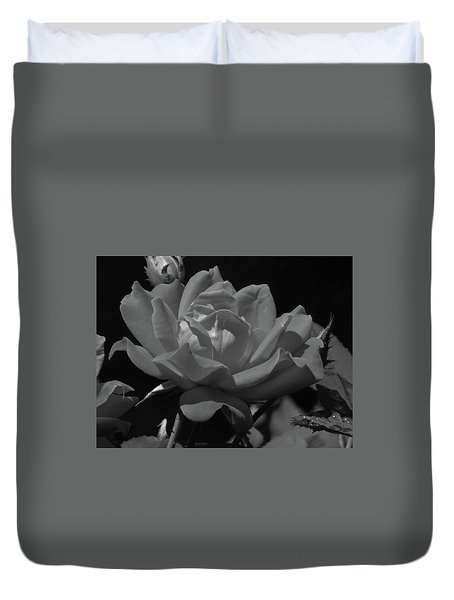 Rosey Bloom Duvet Cover