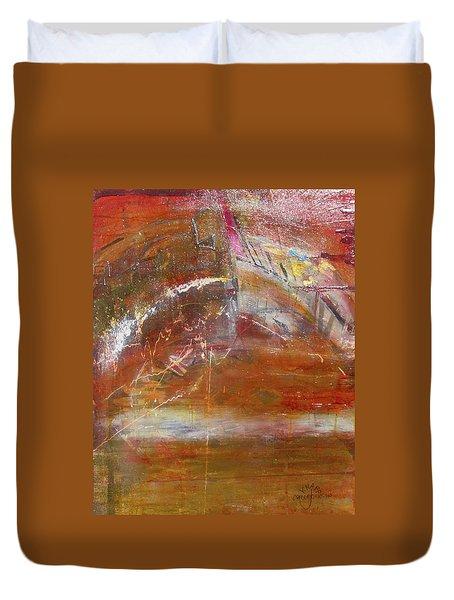 Rusty Rainbow Duvet Cover