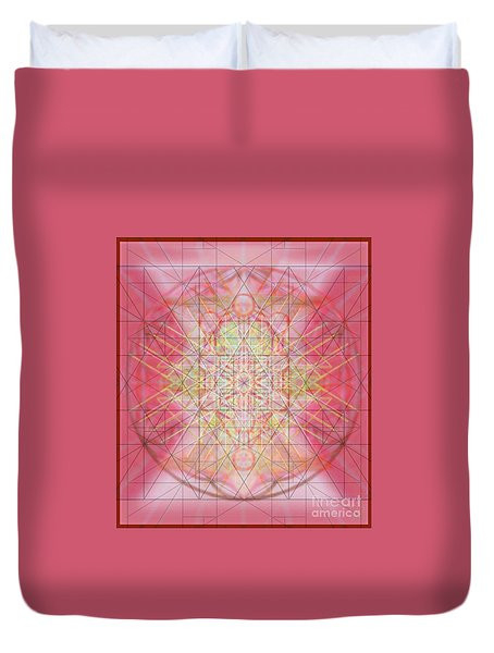 Sacred Symbols Out Of The Void 1b Duvet Cover