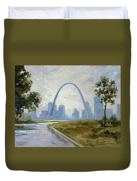 Saint Louis Panorama Duvet Cover