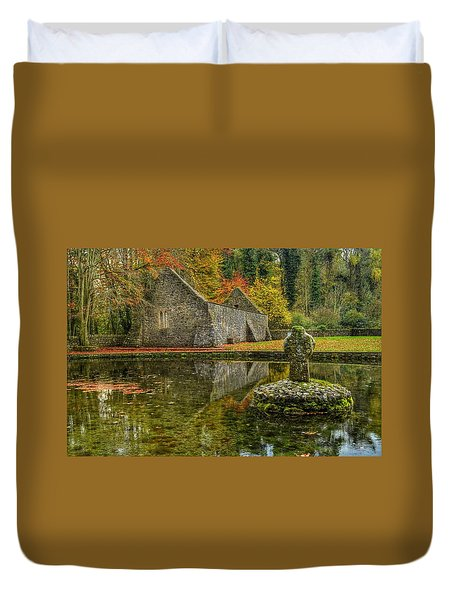 Saint Patrick's Well Duvet Cover