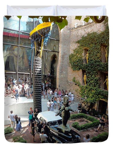 Salvador Dali Museum Duvet Cover