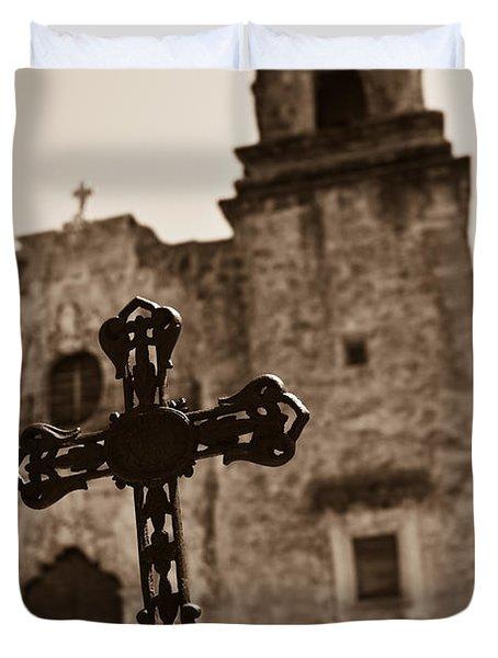 San Antonio Duvet Cover by Sebastian Musial