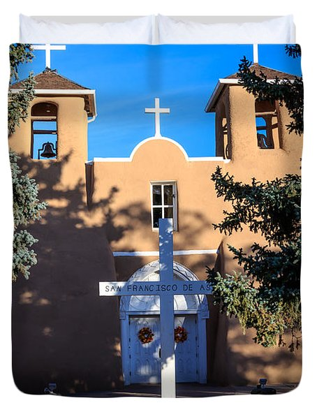 San Francisco De Assisi Mission Church  Duvet Cover