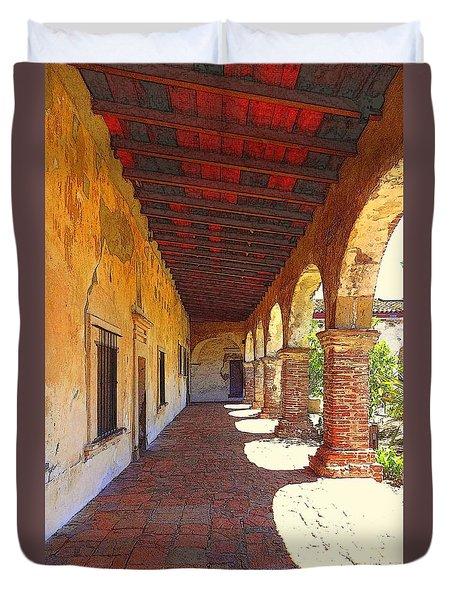 San Juan Capistrano Duvet Cover