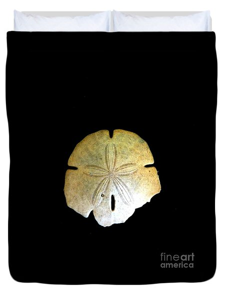 Sand Dollar Duvet Cover by Fred Wilson