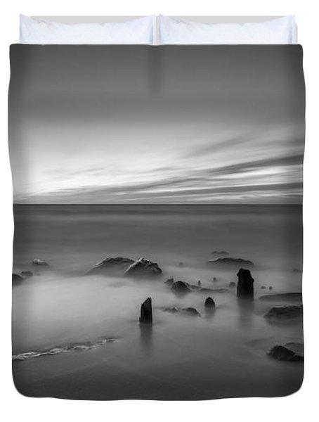Sandy Hook Sunrise  Duvet Cover