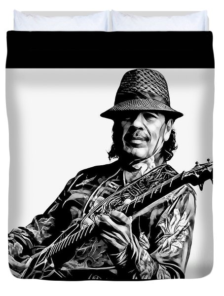 Santana Collection Duvet Cover by Marvin Blaine