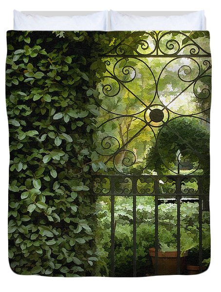 Savannah Gate Duvet Cover