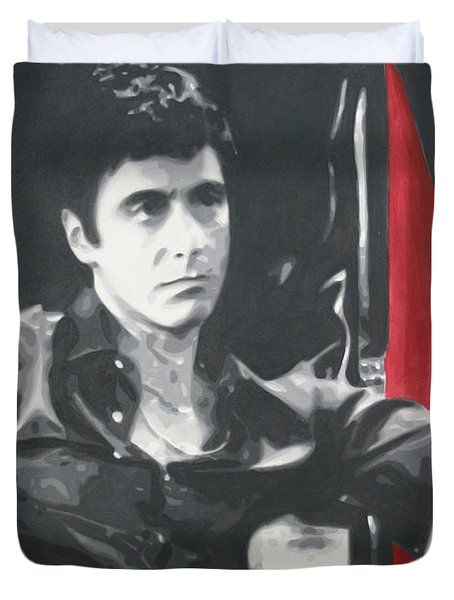 Scarface Duvet Cover