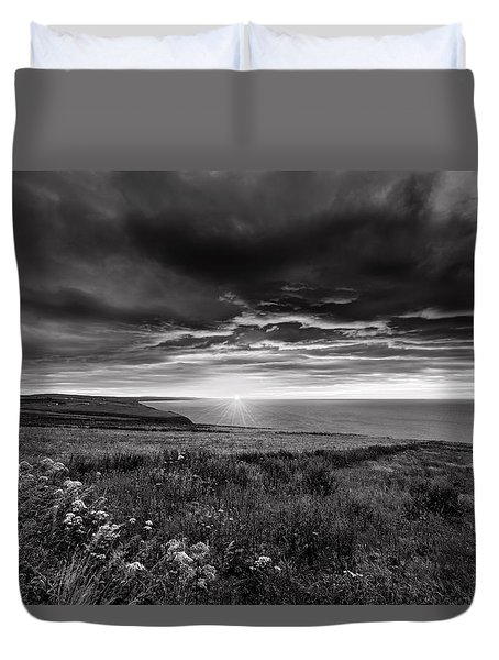 Scottish Sunrise Duvet Cover