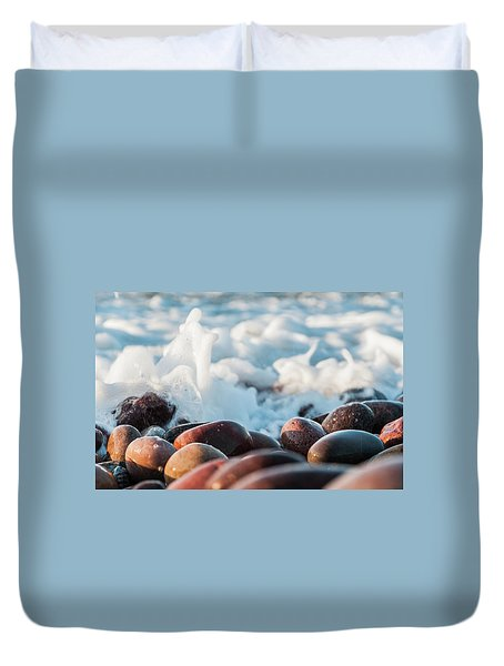 Sea As Art... Duvet Cover
