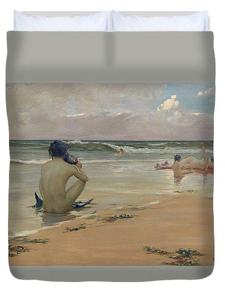 Sea Idyll Duvet Cover