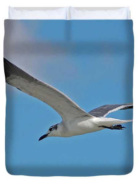 Duvet Cover featuring the photograph 1- Seagull by Joseph Keane