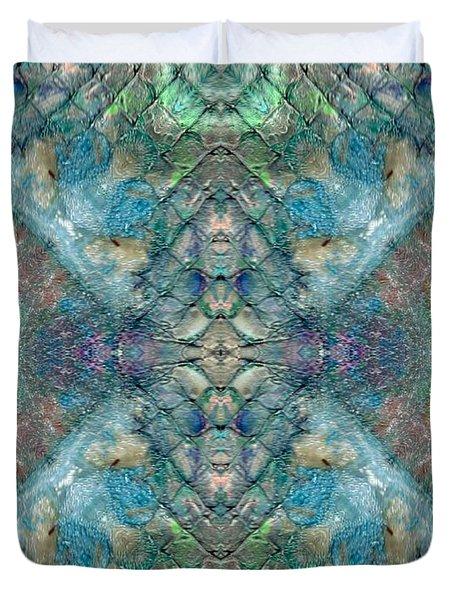 Seascape II Duvet Cover by Maria Watt