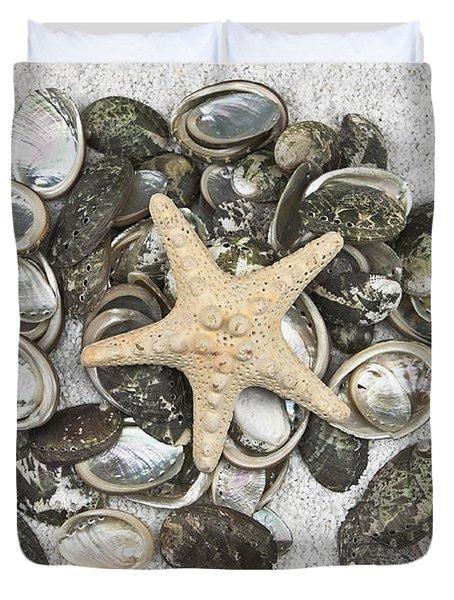 Seashells Duvet Cover by Joana Kruse