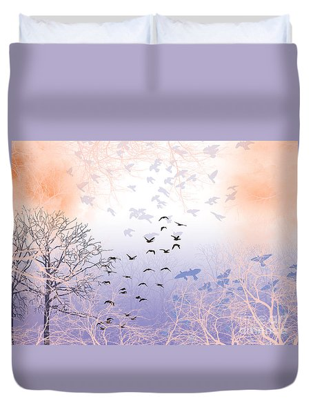 Seekers Duvet Cover by Trilby Cole