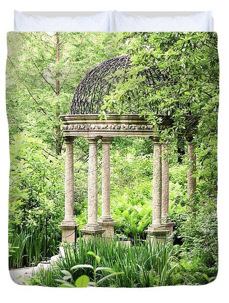 Serenity Garden Duvet Cover