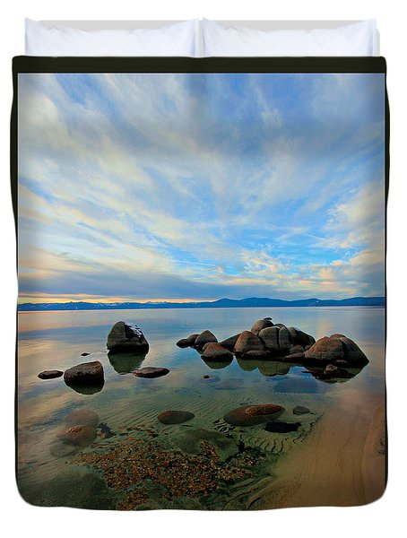 Serenity  Duvet Cover by Sean Sarsfield