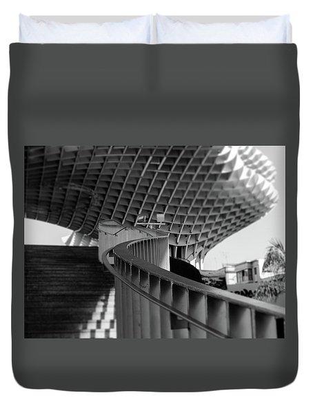 Seville - Metropol Parasol Duvet Cover by Andrea Mazzocchetti