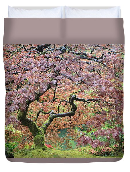 Duvet Cover featuring the photograph Shaded By Beauty by Brandy Little