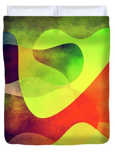 Shapes 3 Duvet Cover