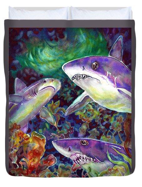 Sharks Duvet Cover