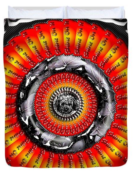 Shine On It Duvet Cover by Robert Orinski