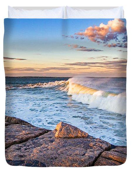 Shinnecock Inlet Surf Duvet Cover