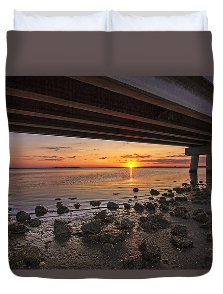 Shinnecock Sunset Duvet Cover