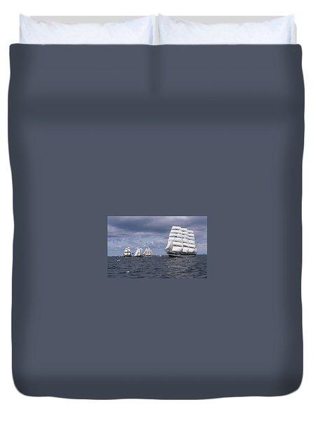 Ship Duvet Cover