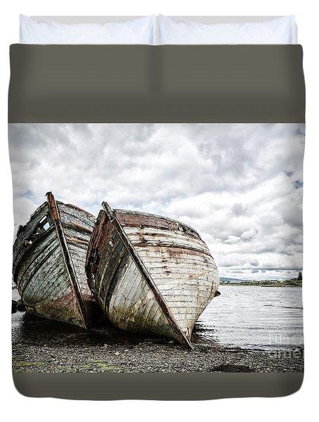 Shipwrecks Duvet Cover