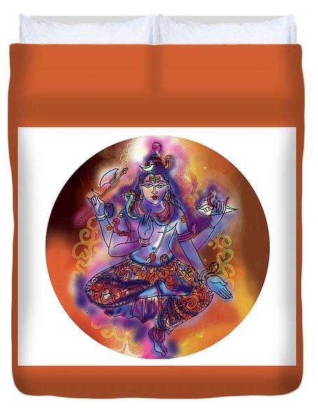 Shiva Dhyan Duvet Cover