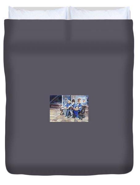 Shopping Duvet Cover