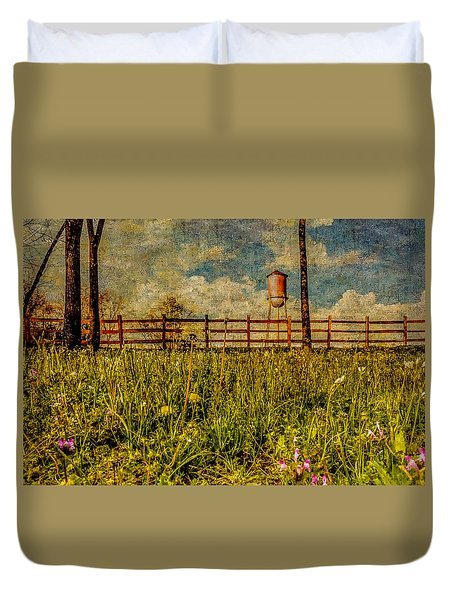 Siluria Cotton Mill Duvet Cover by Phillip Burrow