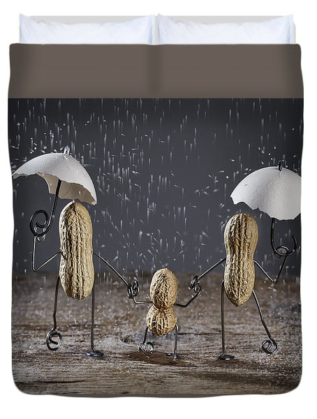 Simple Things - Taking A Walk Duvet Cover