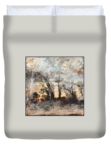 Sing To Me Autumn Duvet Cover