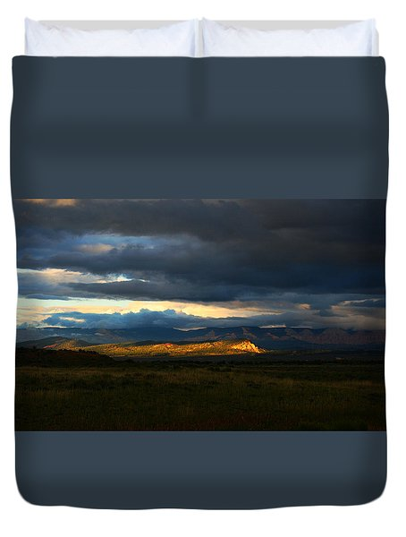 Sky Lightz Duvet Cover