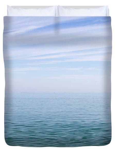 Sky To Shore Duvet Cover