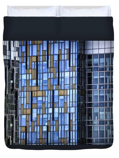 Skyscrapers Duvet Cover by Joana Kruse