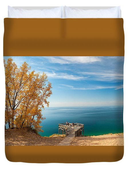 Sleeping Bear Overlook Duvet Cover