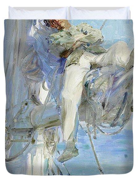 Sleeping Sailor Duvet Cover