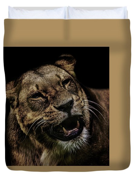 Smile Duvet Cover by Martin Newman
