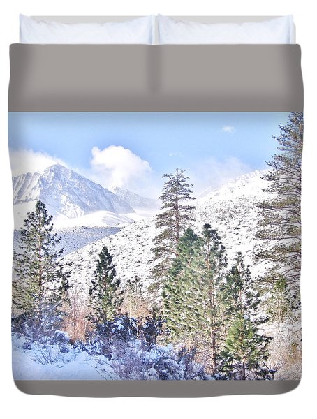 Canyon Snow Duvet Cover