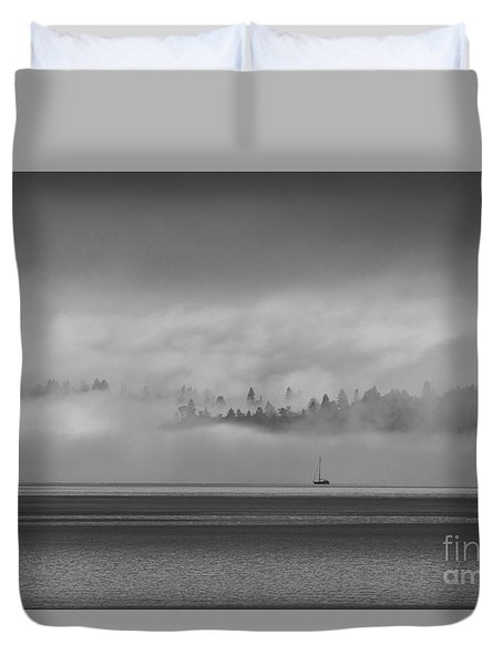 Solitude Duvet Cover by Sean Griffin