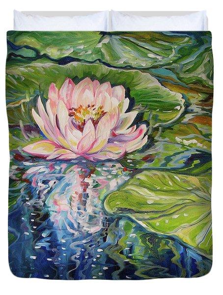 Solitude Waterlily Duvet Cover