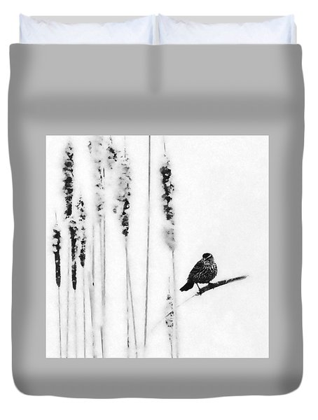 Song Bird  Duvet Cover