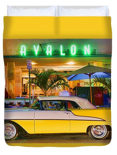 South Beach Classic Duvet Cover by Dennis Cox WorldViews